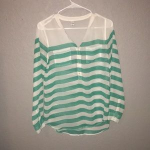 Old Navy Stripped Shirt XS